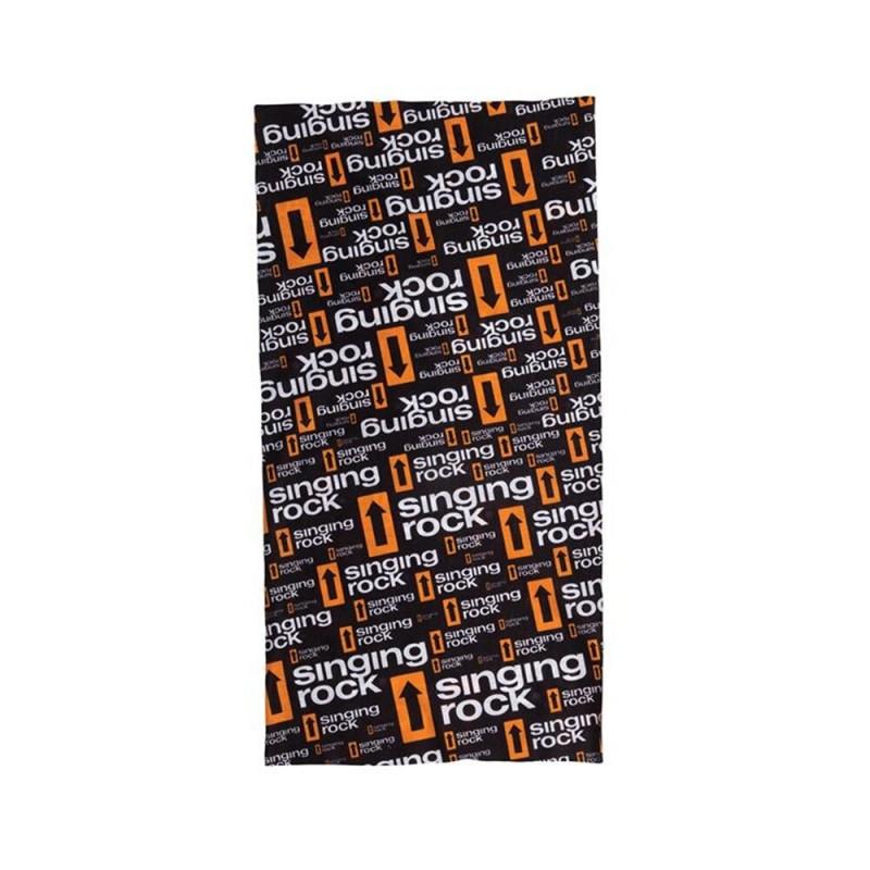 Multifunkční šátek Singing Rock Logos Černá