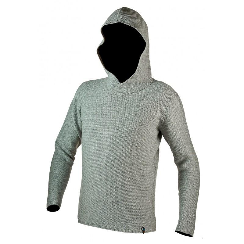 Pánská mikina La Sportiva Fontainebleau Hoody Mid grey