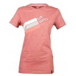Women t-shirt Stripe Logo