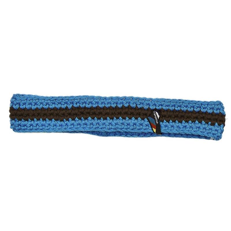 Dámská čelenka La Sportiva Stripe Band Malibu Blue