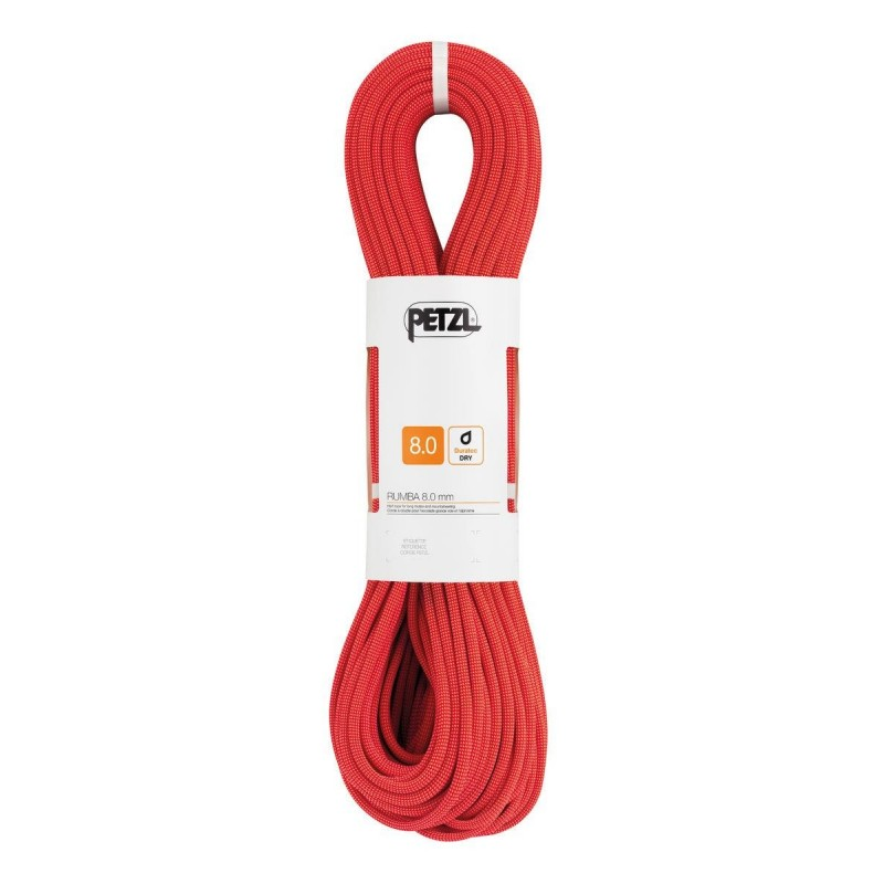Dynamické lano Petzl Rumba Červená