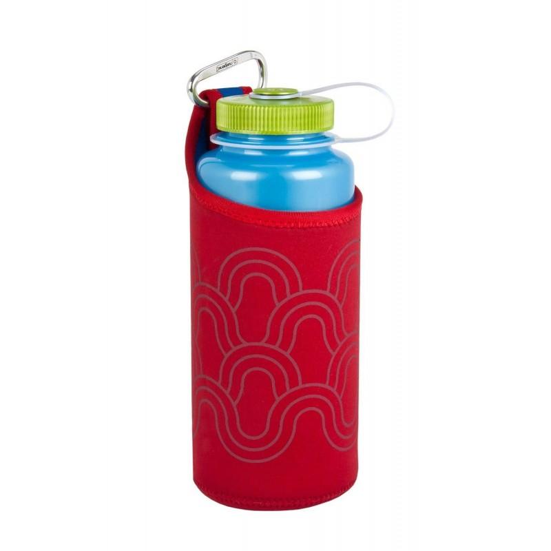 Neoprenový Nalgene obal na lahev Červená