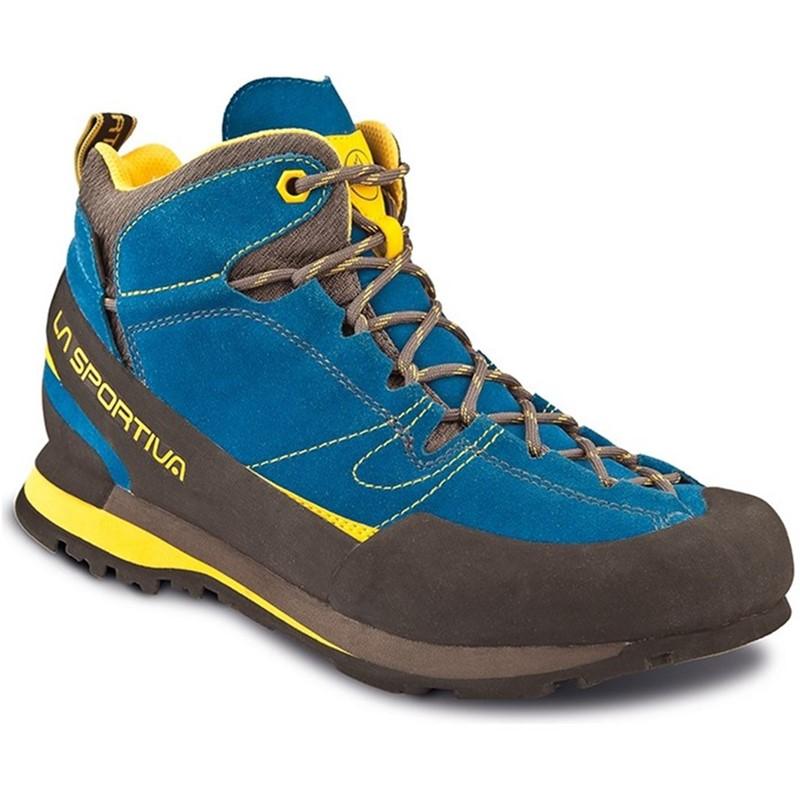 Treková obuv La Sportiva Boulder X MID GTX Modrá