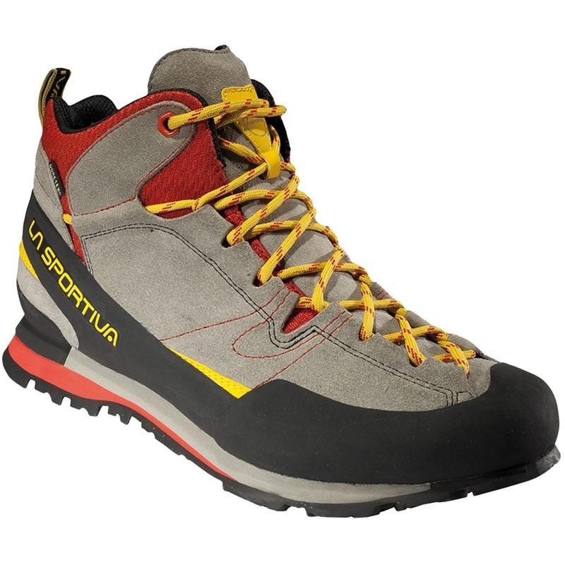 Treková obuv La Sportiva Boulder X MID GTX Šedá