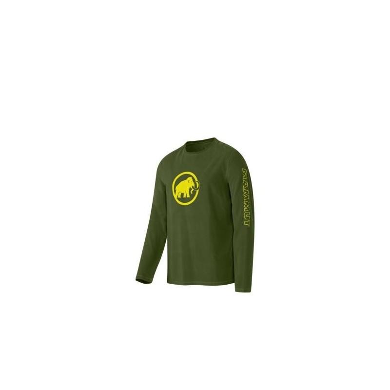 Pánské triko s dlouhým rukávem Mammut Snow Longsleeve Seaweed