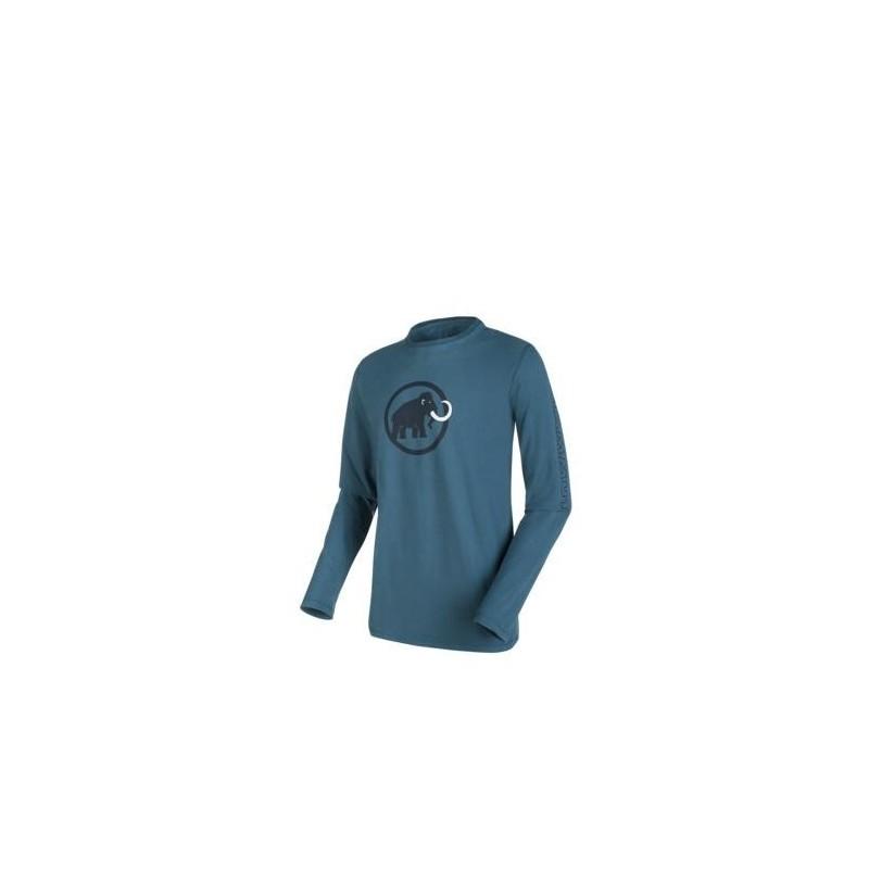 Pánské triko s dlouhým rukávem Mammut Snow Longsleeve Orion