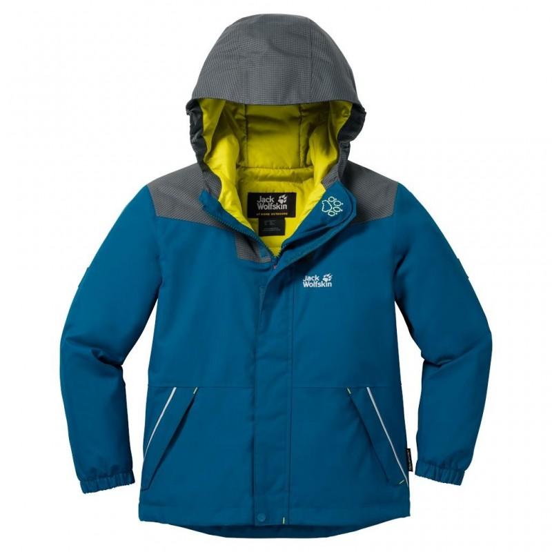 Chlapecká bunda Jack Wolfskin Glacier Bay Glacier Blue