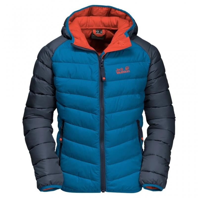 Dětská zimní bunda Jack Wolfskin Zenon Glacier Blue