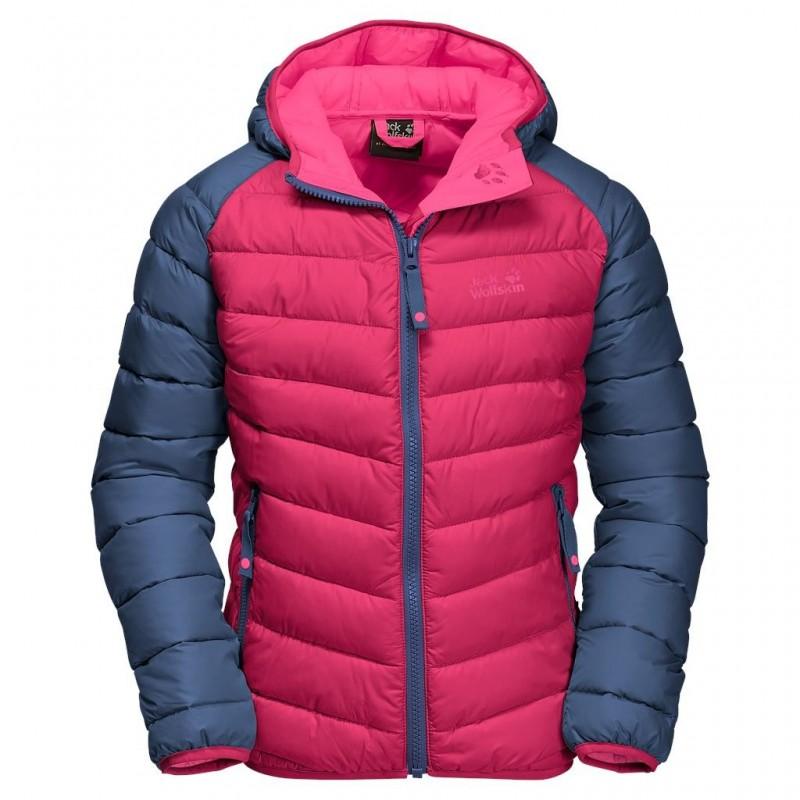 Dětská zimní bunda Jack Wolfskin Zenon azalea red