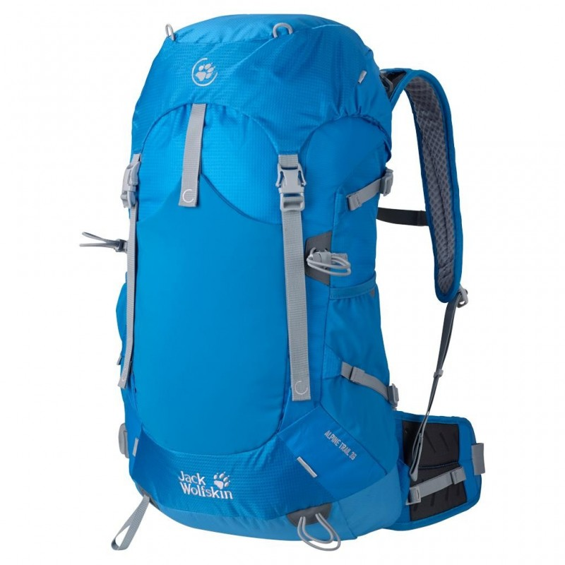 Batoh Jack Wolfskin Alpine Trail 36 Brilliant Blue