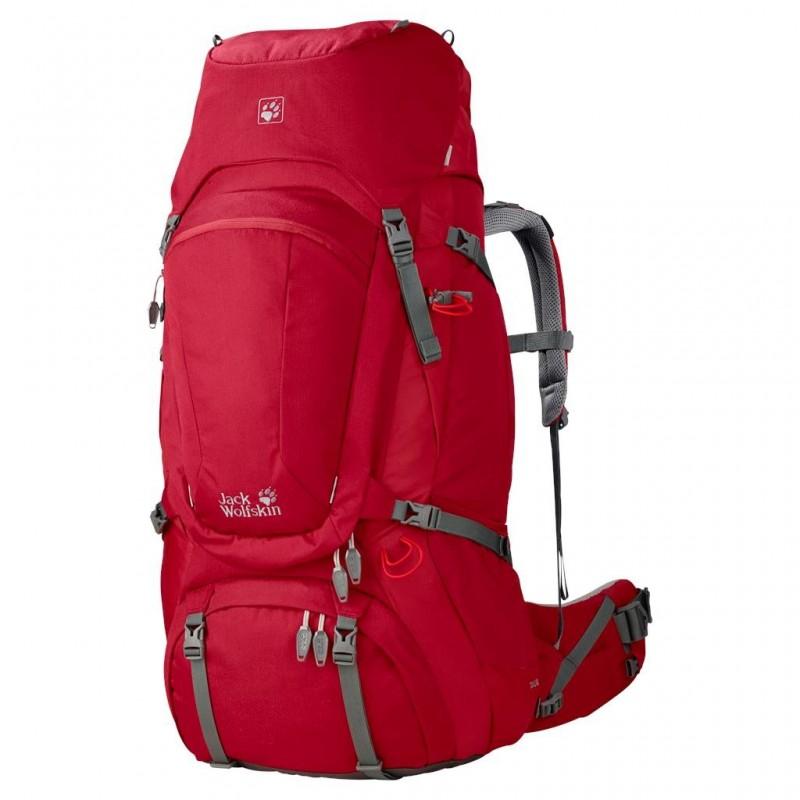Dámská batoh Jack Wolfskin Denali 60 Indian Red