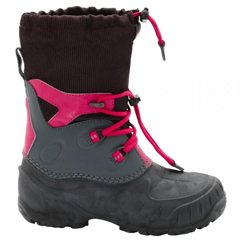Dětské zimní boty Jack Wolfskin Iceland Passage High azalea red 292e41b9cd1