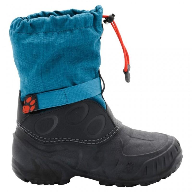 Dětské zimní boty Jack Wolfskin Iceland High Glacier Blue