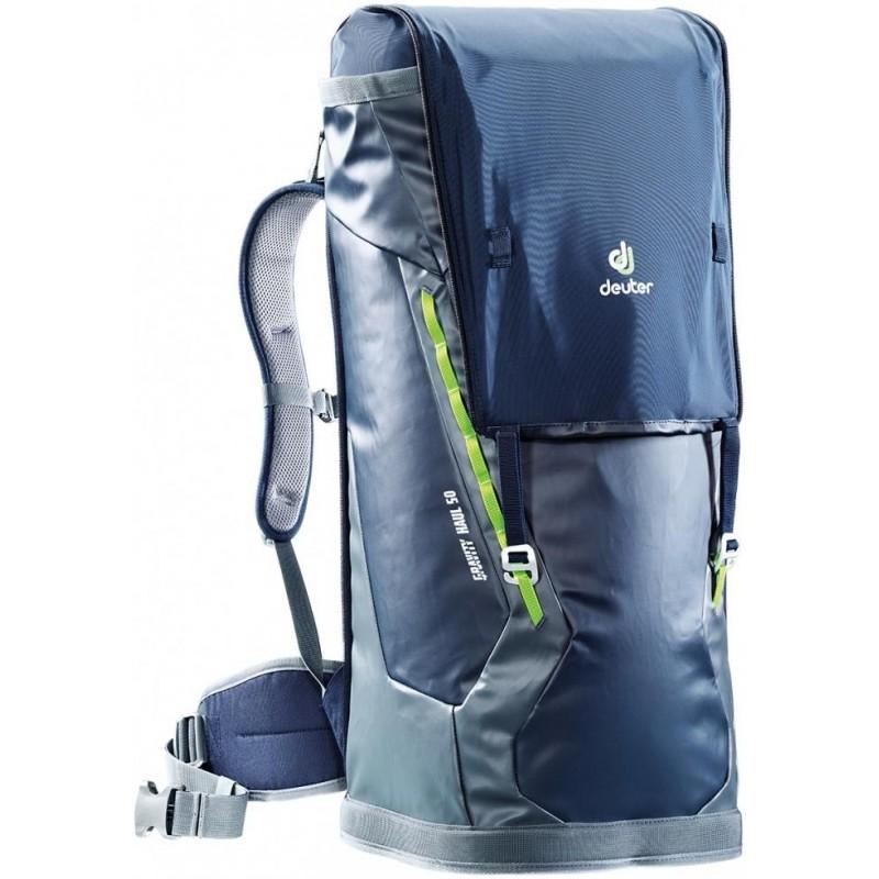 Lezecký batoh Deuter Gravity Haul 50 Námořní modř