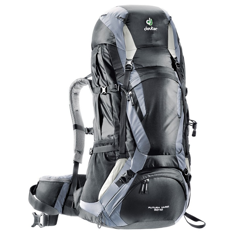 Turistický batoh Deuter Futura Vario 50 + 10 Černá