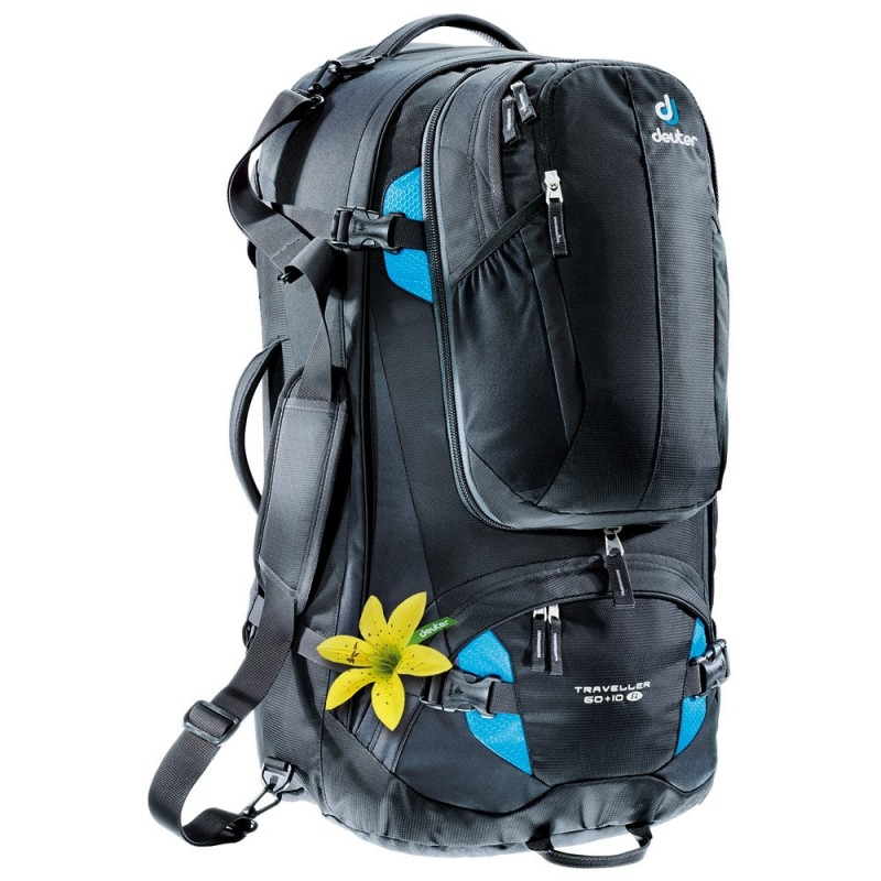 Turistický batoh Deuter Traveller 60 + 10 SL Černá
