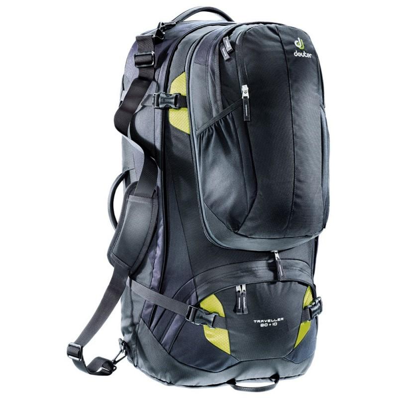 Turistický batoh Deuter Traveller 80 + 10 Černá