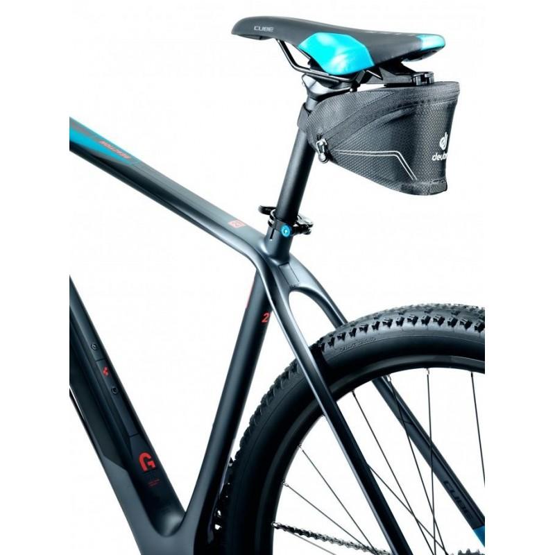 Cyklistická taštička Deuter Click I Černá