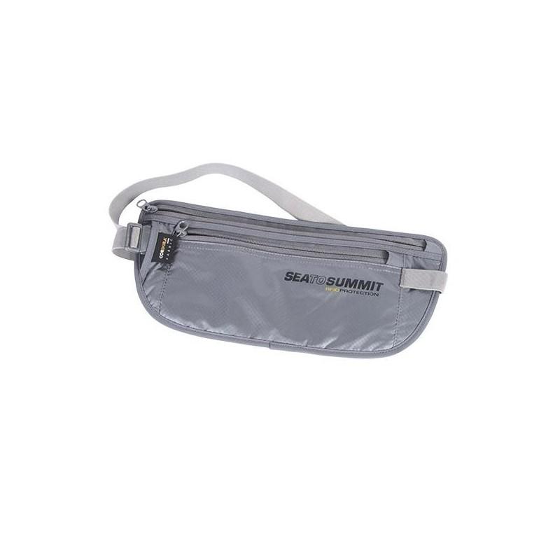 Opasek na peníze SeaToSummit RFID Stříbrná