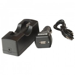Car and USB baterry charger