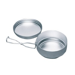 Aluminum set mess tin 2 pieces