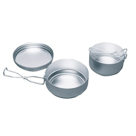 Aluminum set mess tin 3 pieces