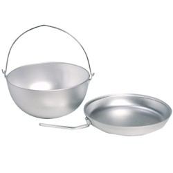 Cooking set kettle with pan