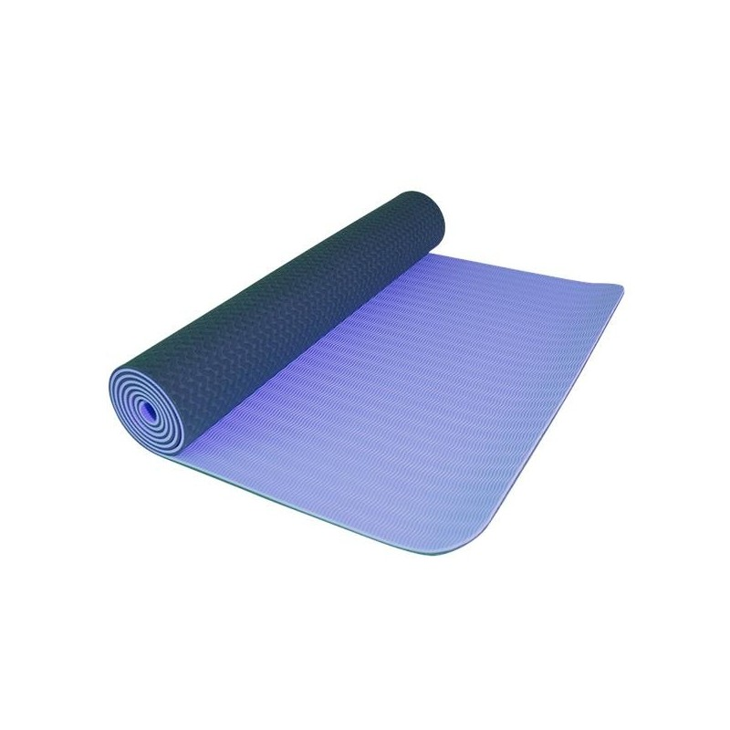 Yoga mat Yate TPE Modrá