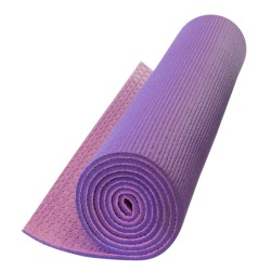 Double-layer yoga mat with...