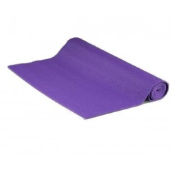 Single-layer yoga mat with anti-slip surface