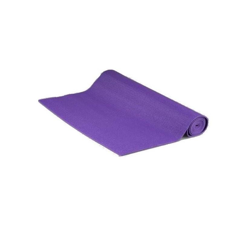 Jednovrstvá Yate Yoga mat Fialová
