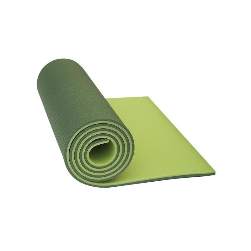 Pěnová karimatka Yate Dvouvrstvá 10 mm Zelená