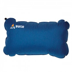 Self-inflating pillow
