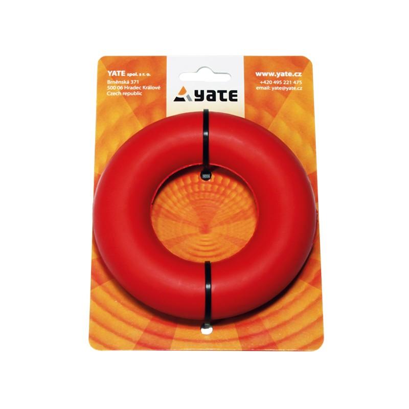 Středně tuhý Yate Posilovací kroužek Červená