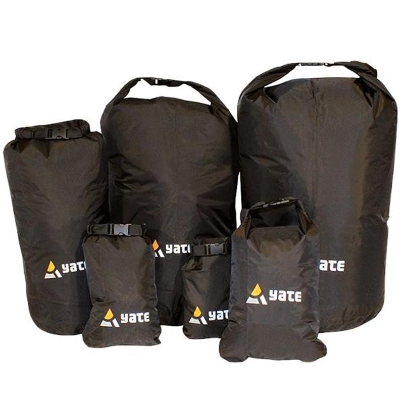 Nepromokavý vak Yate Dry bag Černá