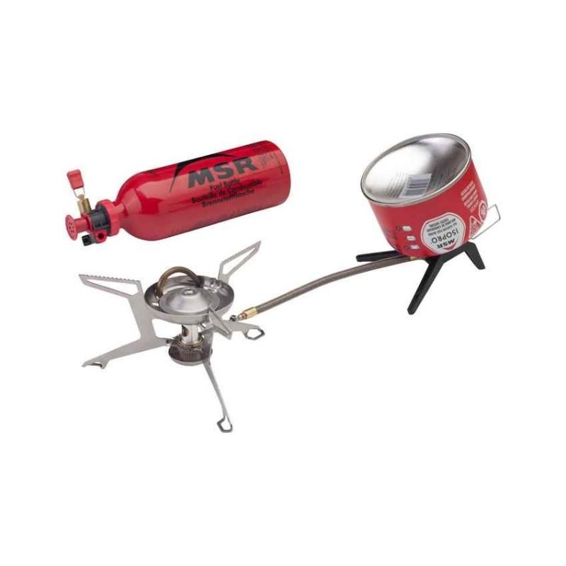 Kombinovaný vařič MSR WhisperLite Universal Stove Stříbrná