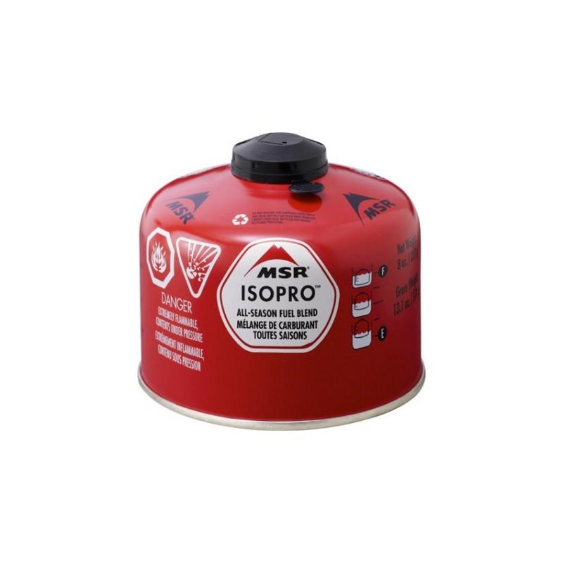 Plynová kartuše MSR IsoPro Canister Červená