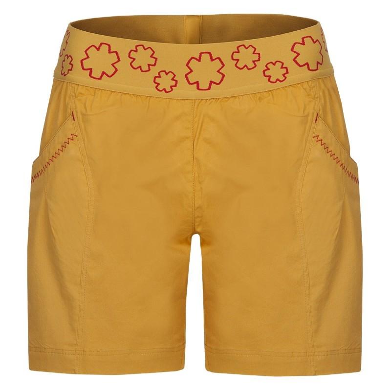 Dámské šortky Ocun Pantera shorts Golden yellow