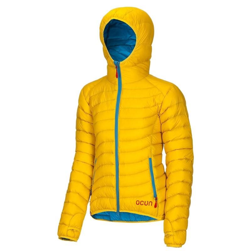 Dámská péřová bunda Ocun Tsunami W Žlutá