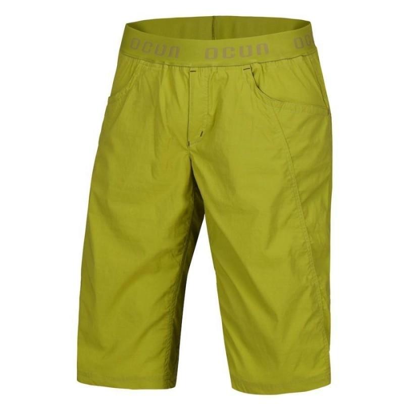 Pánské lezecké šortky Ocun Mánia shorts Pond green