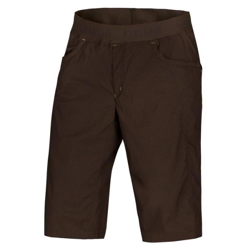 Pánské lezecké šortky Ocun Mánia shorts Dark Brown