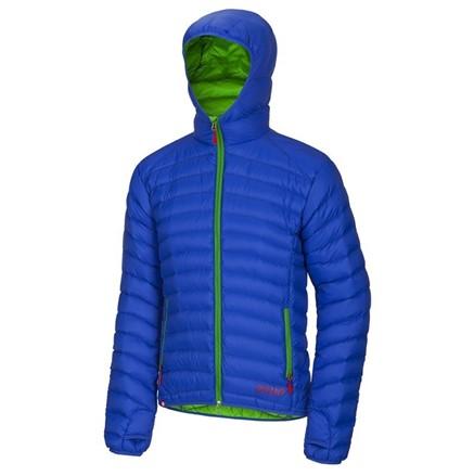 Pánská péřová bunda Ocun Tsunami Modrá