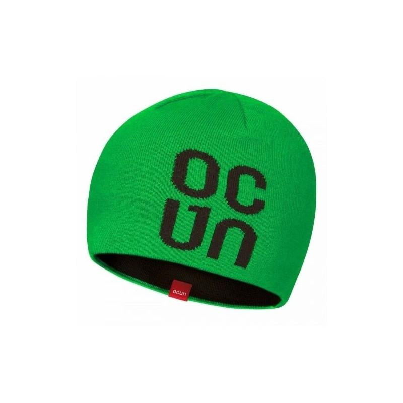 Čepice zimní Ocun Logo Zelená