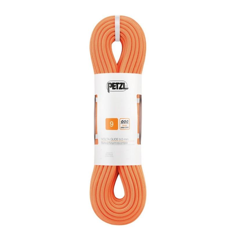 Dynamické lano Petzl Volta guide Oranžová