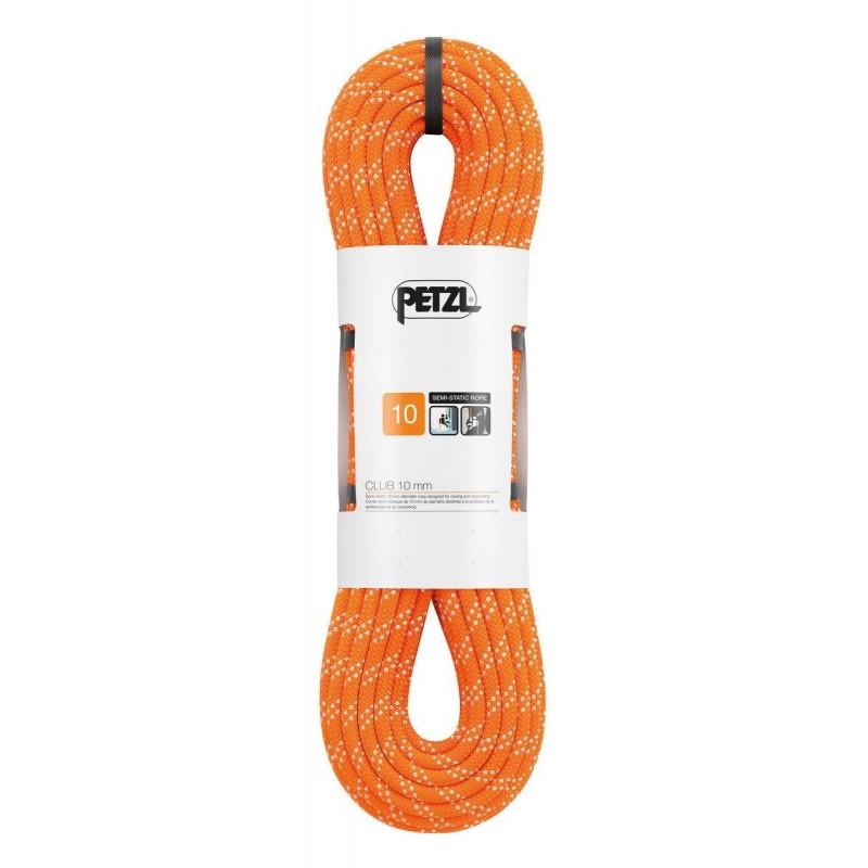 Semi-statické lano Petzl Club 10 mm Oranžová