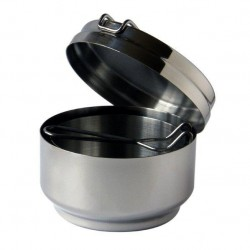 Stainless steel mess tin 3 parts