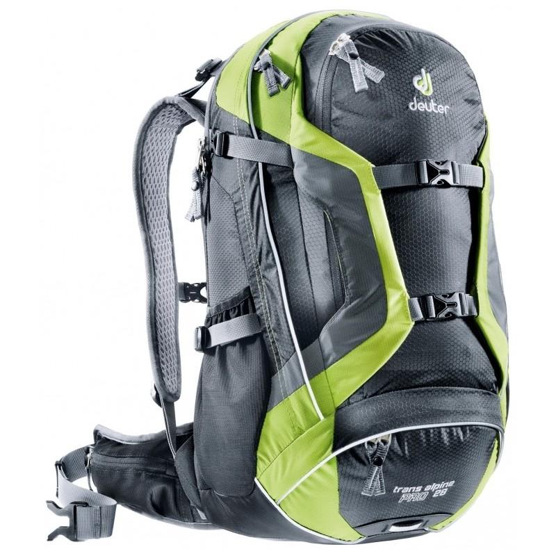 Cyklistický batoh Deuter Trans Alpine Pro 28 Černá