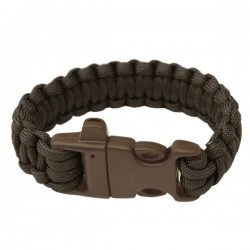 Bracelet Paracord with whistle