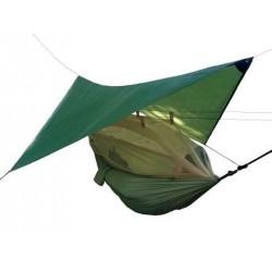Hammock Nomad with a tarp