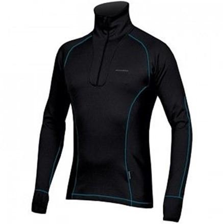 Pánslý pulover Direct alpine Zip shirt long 1.0 Černá
